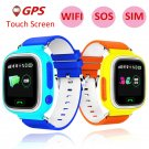 Child GPS Smart Watch Q90 With Wifi Touch Screen Children Smartwatch SOS Ca