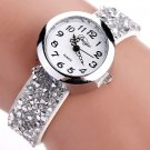 Duoya Brand Watches Women Fashion Casual Crystal Rhinestone Bracelet Watch