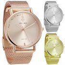 Women Watches Brand Top Luxury Ultrathin 40mm Casual Rose Gold Quartz Wrist