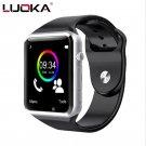 LUOKA WristWatch Bluetooth Smart Watch Sport Pedometer With SIM Camera Smar