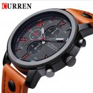 New Hot Curren Luxury casual men watches analog military sports watch quart