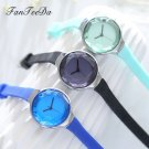 FanTeeDa Brand Fashion Silicone Strap Quartz Watch Outdoor Casual Business