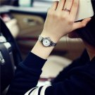 Hot sale top women quartz watch stainless steel leather ladies Analog small