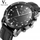 NEW V6 Casual mens watches brand luxury Silicone Men Military Wrist Watch F
