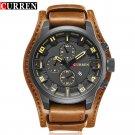 CURREN Men's Top Brand Luxury Quartz Watches Men's Sports Quartz Watch Leat