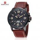 2017 Brand NAVIFORCE Watches men Casual Quartz reloj Leather wristwatch Arm