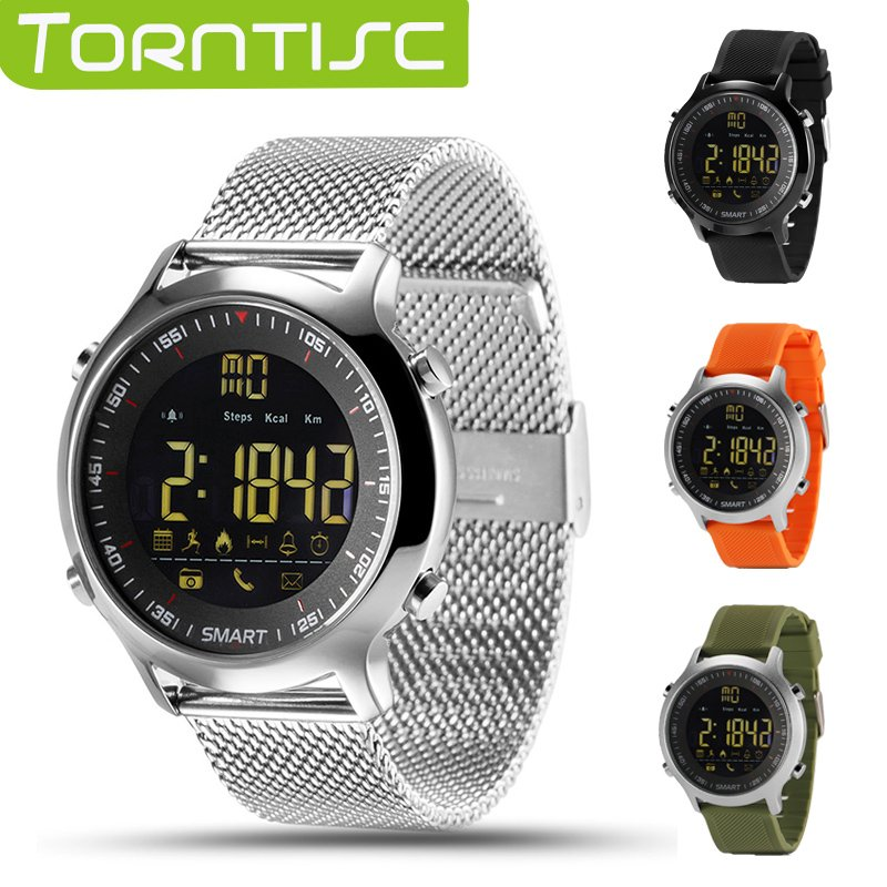 Torntisc IP67 Waterproof EX18 Smart Watch Support Call and SMS alert Pedome