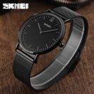 Ultra Thin Watches Men Quartz Stainless Steel Men's Watches SKMEI Brand Clo