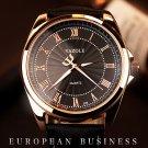 2016 Men Watch Top Brand Luxury Famous Wristwatches Male Clock Leather Wris
