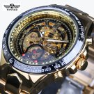 Montre Homme Winner New Number Sport Design Bezel Golden Watch Mens Watches