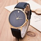 CAY New Simple Geneva Watches Women Men Diamond Leather Strap Casual Quartz