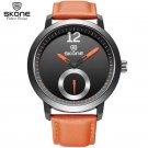 Men Brand SKONE genuine Watches 30m waterproof leather women & Men's Watch