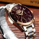 Watches Men LIGE Brand Full Steel Military Watches Men's Quartz Clock Men B