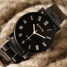 2016 New Brand Kevin Luxury Stainless Steel Band Full Black Quartz Watches