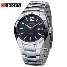 CURREN 8103 Luxury Brand Stainless Steel Strap Analog Display Date Men's Qu