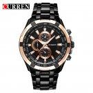 CURREN Top Brand Luxury Men's Watches Men Casual Military Business Steel Cl