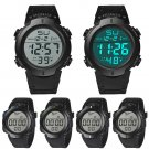 Men Watch Waterproof Men's Boy LCD Digital Stopwatch Date Rubber Sport Wris