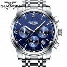 Fashion Watch men Luxury top brand GUANQIN steel men watch  luminous waterp