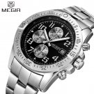 2017 New MEGIR Men's Chronograph Casual Watch Luxury Brand Quartz Wrist Wat