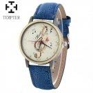 TEMPTER 2017 Fashion Musical Note Watches Women Casual Denim Quartz Watch C
