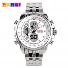 Famous Brand Men Sports Watches Full Steel Watch Male Fashion Quartz Clock