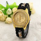2016 New  Famous Brand Women Gold Alloy Chain Casual Quartz Watch Women Cry
