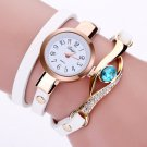 Ladies Watch Luxury Women's Watches Blue Eye Gemstone Female Watch Women PU