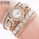 2016 CCQ Fashion Luxury  Women Rhinestone Bracelet Watch Ladies Quartz Watc