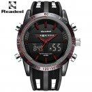 Fashion Brand Men's Sport Watch LED Quartz Army Military Watches Swim Outdo