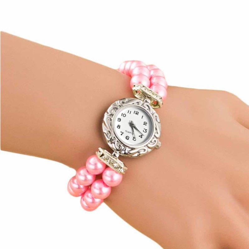 Women Watches relojes mujer Design Luxury Brand Women Bracelet Watch Pearl
