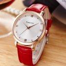Ladies Fashion Dress Watches Women Casual Leather Quartz Wrist Watch For Wo