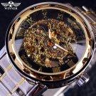 Transparent Gold Watch Men Watches Top Brand Luxury Relogio Male Clock Men