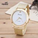 New 2017 Fashion Casual Clock Gold Bracelet Watch Women New Net Watches Wom