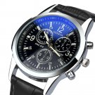 Fantastic noble stylish Top Luxury brand Watches men Stainless Faux Leather