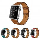 100% Genuine Leather Watchband for Apple Watch Band Series 3/2/1 Leather 42