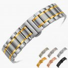 14mm 16mm 18mm 20mm 22mm 24mm Stainless Steel Watch band Strap Bracelet Wat