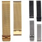 NEW Arrival Watch Band 18/20/22/24mm Stainless Steel Watch Mesh Bands Strap