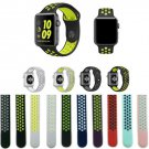 Newest Flexible Breathable Silicone Band for Apple Watch Sports Series 3&2&