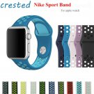 CRESTED sport silicone watch strap for apple watch band 42 mm/38 Silicone w