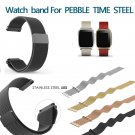 22mm Milanese Loop Band Stainless Steel Watch Bracelet Strap for Pebble Tim