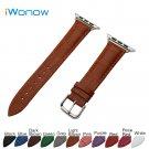 Croco Genuine Leather Watchband for 38mm 42mm iWatch Apple Watch / Sport /