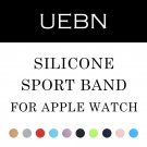 UEBN Sports Silicone Band for Apple Watch 42mm 38mm Replace Bracelet Strap