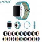 CRESTE Nylon watch strap For apple watch band 42 mm/38 bracelet wrist band