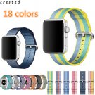 CRESTED Woven Nylon strap For apple watch band 42 mm/38  Sport wrist bracle