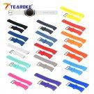 TEAROKE 16 Colors Silicone Watchband for Samsung Galaxy Gear S2 R720 R730 B