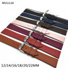 8 fashion color 12MM 14MM 16MM 18MM 20MM 22MM smooth grain genuine leather