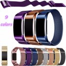 CRESTED Milanese Loop Watchbands Stainless Steel Smartwatch Strap For Fitbi