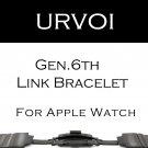 URVOI link bracelet band for apple watch series 3 2 1 strap for iWatch adju