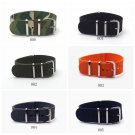 20mm Watchband High Quality Hot Sale Fashion Nylon Nato Watch Strap Band La