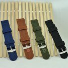 Military Army Nylon Wrist Watch Band 18mm 20mm 22mm 24mm Replacement Strap-
